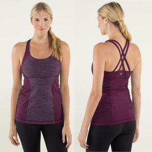 Lululemon Energy Tank Wee Are From Space Plum 4